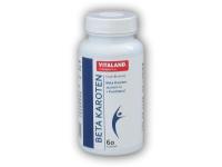 Vitaland Beta Karoten + Panthenol 60 kapslí