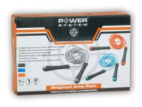 PowerSystem švihadlo WEIGHTED JUMP ROPE