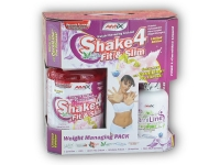 Shake 4 Fit & Slim 1kg + Carniline 480ml