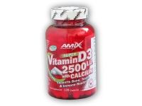 Super Vitamin D3 2500I.U. with Calcium 120cps