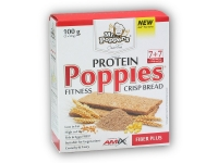 Poppies CrispBread Protein Fiber Plus 100g