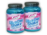 2x Fat Zero Ultra Diet Shake 500g
