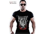 Tričko Muscular Man pánské černé