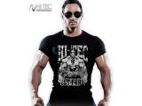 Tričko Get Fury pánské černé