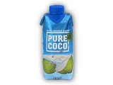 Pure Coco 100% coconut water 330ml