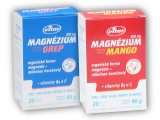 Magnézium 400mg+vitamín B6+vitamin C 20s