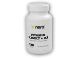 Vitamin K2MK7+D3 120 kapslí
