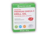 Premium Omega-3 Krill oil 60 kapslí