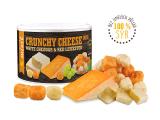 Křupavý sýr White Cheddar Red Leicester 70g