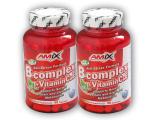 2x B-Complex + Vitamin C + Vitamin E 90kapslí