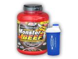 Anabolic Monster BEEF 90% Prot. 2200g + šejkr