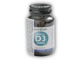 Viridian Vitamin D3 2000IU 60 kapslí