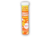 Multivitamín bez cukru 24 šumivých tbl