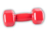 Jednoručka Vinyl Dumbell 3kg red