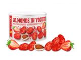 Mandle v jogurtu s jahodovým prachem240g