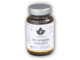 B12 Vitaminii + Folaati 60 tbl malina