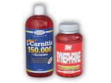 L-Carnitin 150000+Chrom.1l+ Synephrine 100cps