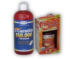 L-Carnitin 150000+Chrom.1l+ Thermo Lean 90cps