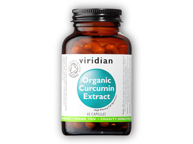 Curcumin Extract Organic - BIO 60 kapslí