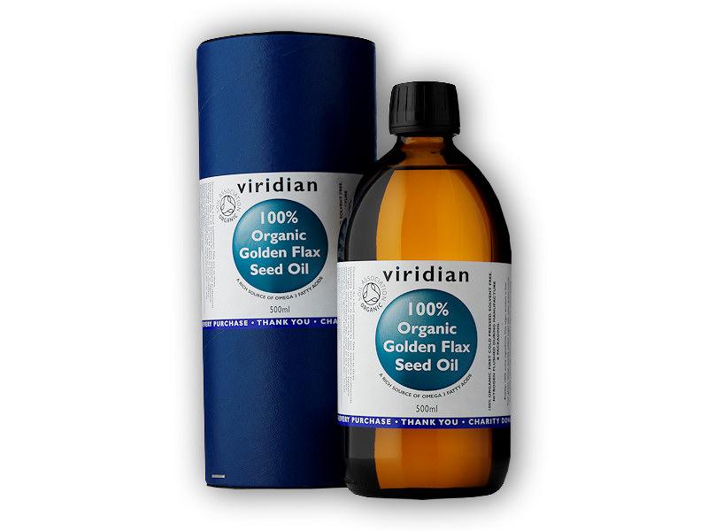 Golden Flax Seed Oil Organic - BIO 200ml