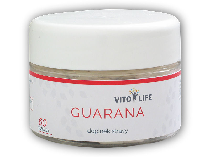 Guarana 400mg 60 kapslí