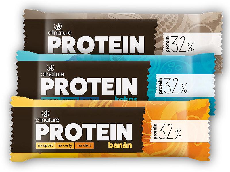 Allnature Proteinová tyčinka 32%
