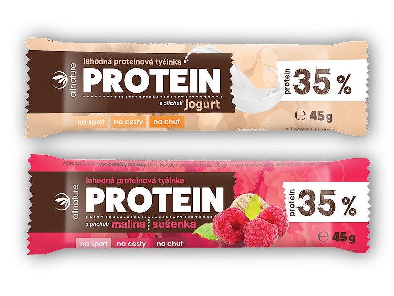 Allnature Proteinová tyčinka 35%
