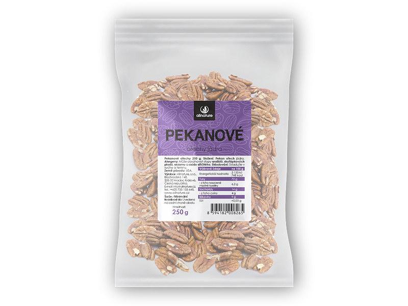 Allnature Pekanové ořechy 250g