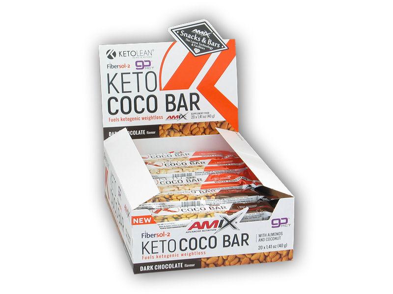 20x Keto COCO Bar 40g