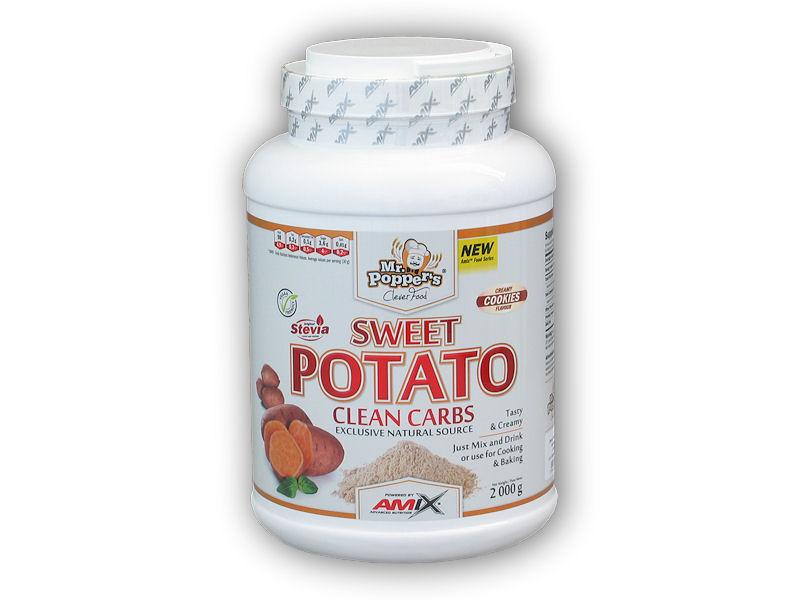 Sweet Potato Clean Carbs