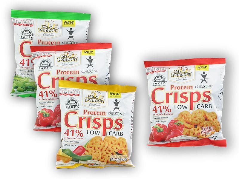 Protein Crisps 41% 50g 3+1