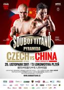 Souboj Titánů Pyramida - Czech vs China 25.11.2017 - Plzeň