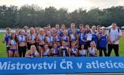 Stříbrný úspěch atletické party z Plzně